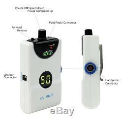 Portable Dentaire Électrique Micro Polonais Moteur + Droite Pièce À Main Contra Angle