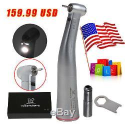 USA Dentaire 15 Électrique À Fibre Optique Led Contra Angle Handpiece Adapter Kavo Nsk X95l