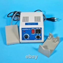 USA Dental Lab Marathon 35k RPM Micromoteur Avec 2x Handpieces Avec 10drill Burs Alk