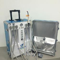 Unité Dentaire Portative Avec Compresseur D'air +balanceur D'air Dentaire Sonic Hygienist 2/4h